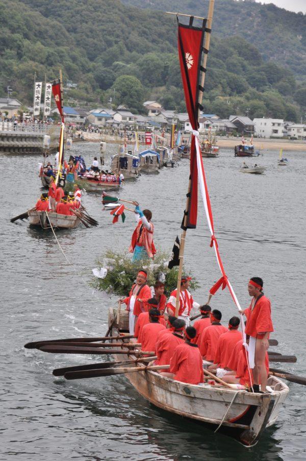 坂越の船祭